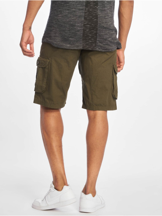 Southpole Shorts Belted Cargo Ripstop oliva