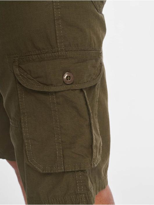 Southpole Shorts Belted Cargo Ripstop oliva