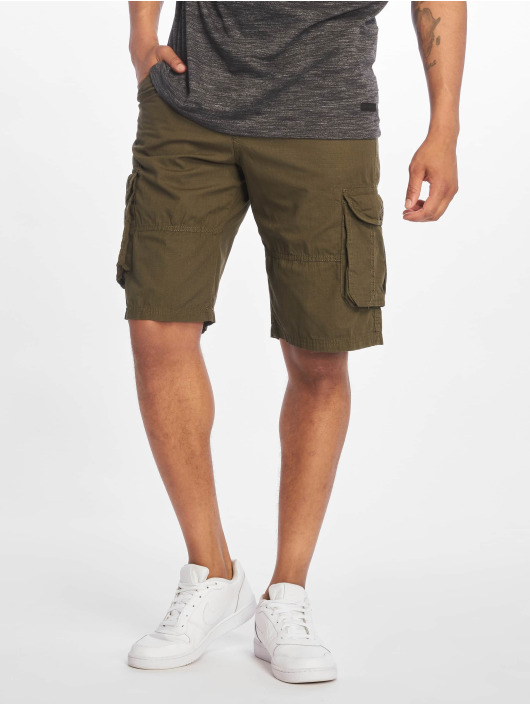 Southpole Shorts Belted Cargo Ripstop olive