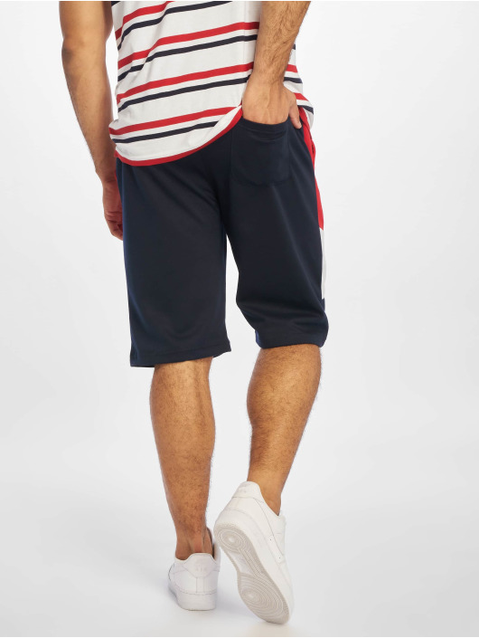 Southpole Shorts Color Block Tech Fleece rot