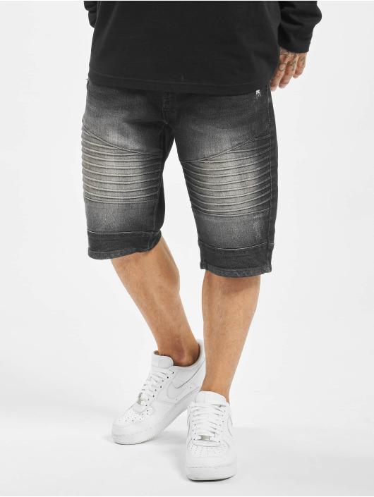 Southpole Shorts Biker schwarz