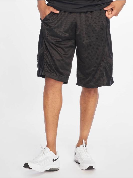 Southpole Shorts Basketball Mesh schwarz