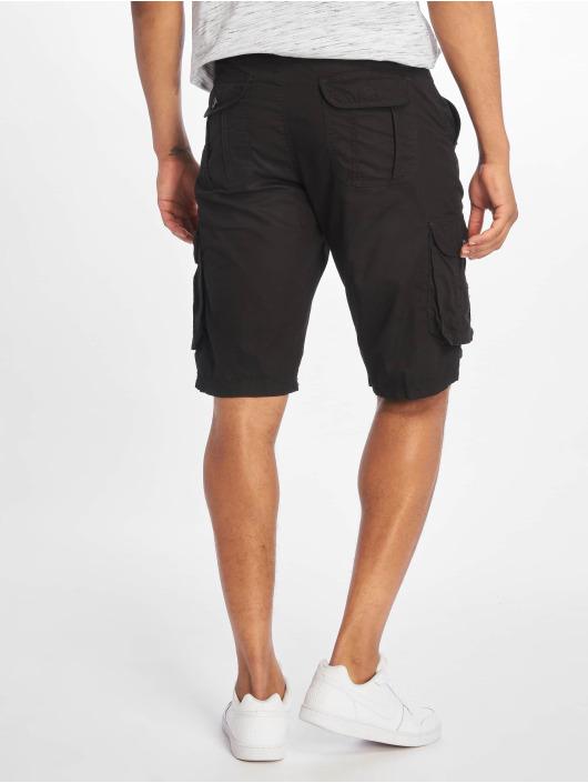Southpole Shorts Belted Cargo Ripstop svart