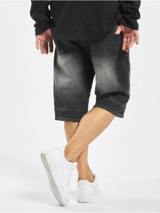 Southpole shorts Biker zwart