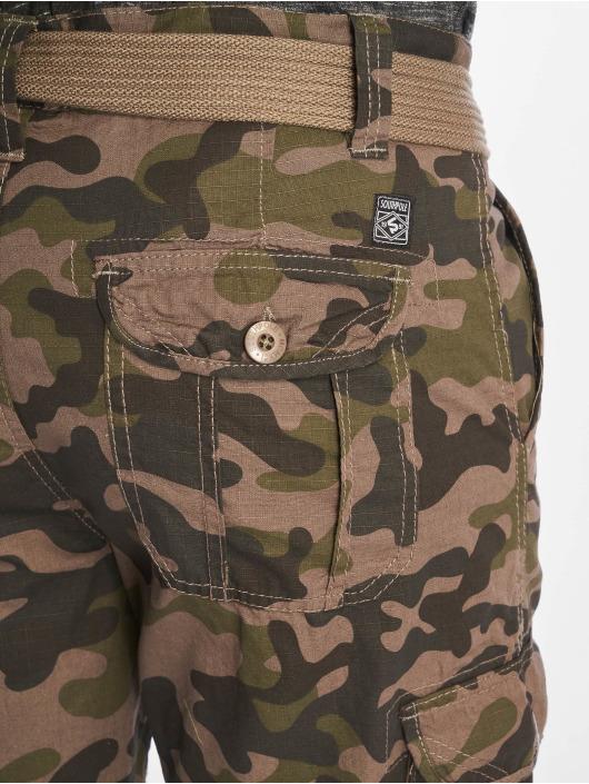 Southpole Shortsit Belted Cargo Ripstop camouflage