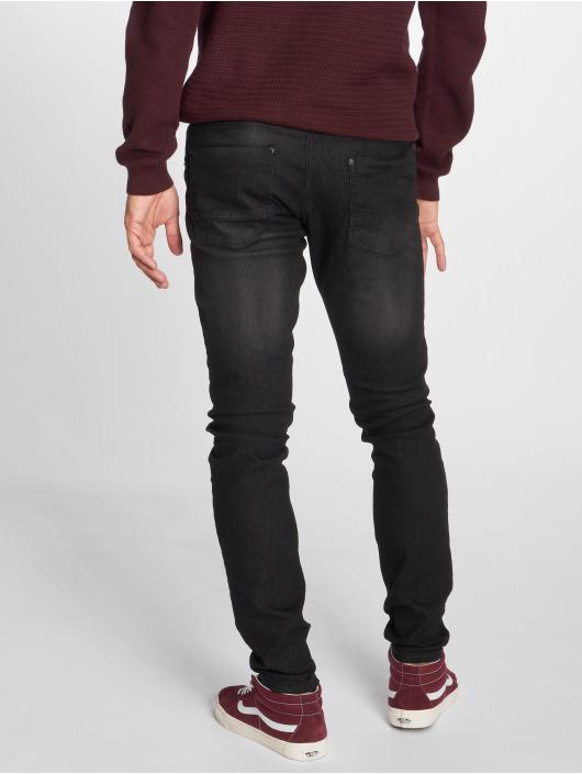 Southpole Slim Fit Jeans Flex Basi schwarz