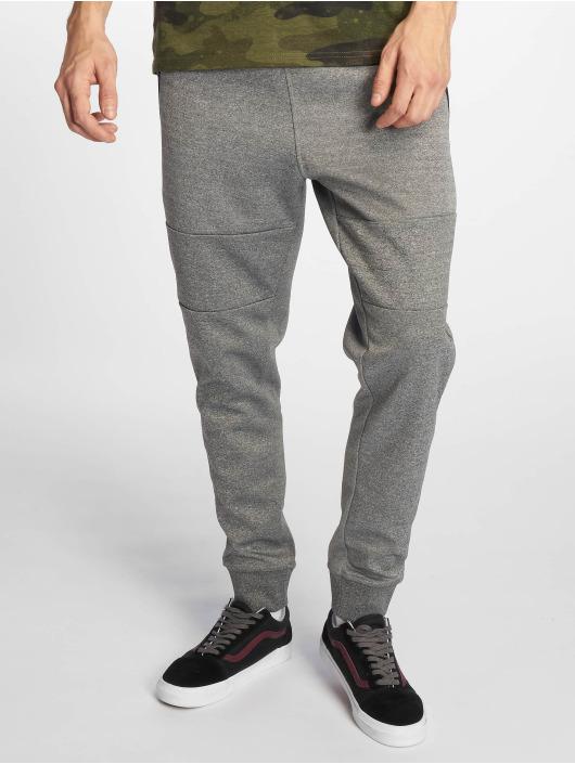 Southpole Spodnie do joggingu Marled Tech Fleece szary