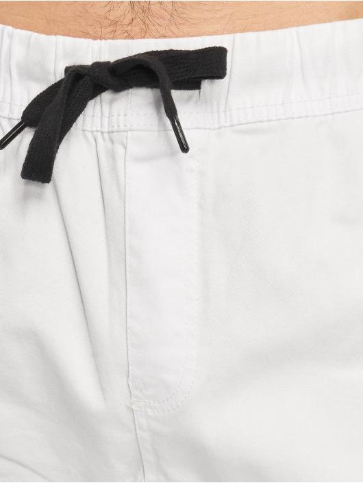 Southpole Spodnie wizytowe Stretch bialy