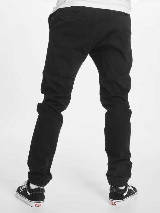 Southpole Spodnie wizytowe Stretch czarny