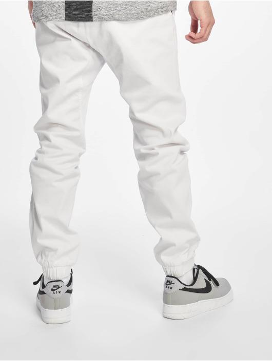 Southpole Stoffbukser Stretch hvit