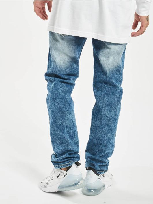 Southpole Straight Fit Jeans Stretch Basic Denim blau
