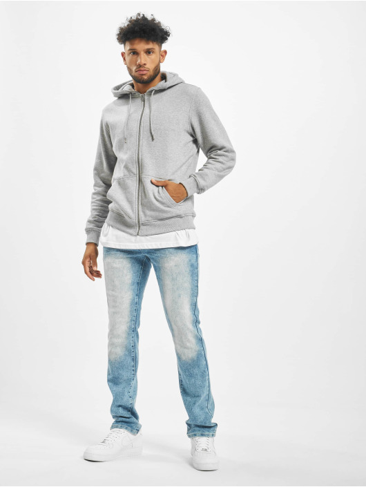 Southpole Straight Fit Jeans Stretch Basic blau