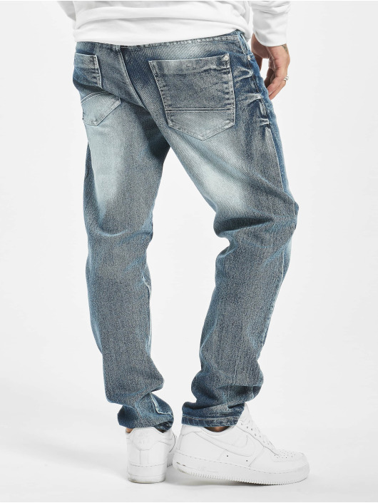 Southpole Straight Fit Jeans Stretch Basic Denim blau