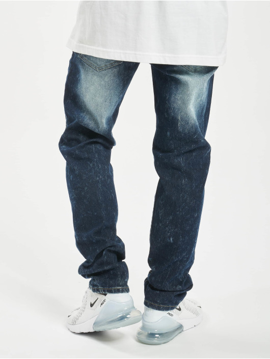 Southpole Straight fit jeans Stretch Basic Denim blauw