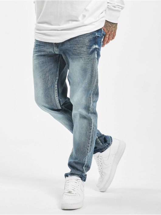 Southpole Straight Fit Jeans Stretch Basic Denim modrý