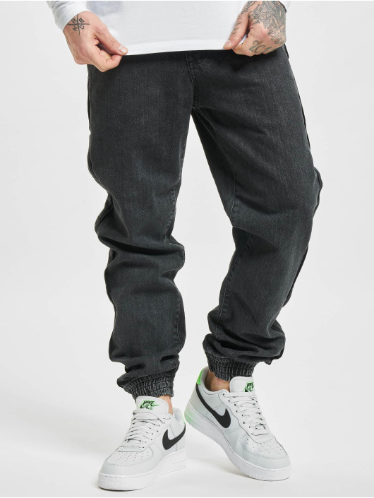 Southpole Straight fit jeans Straight Fit zwart