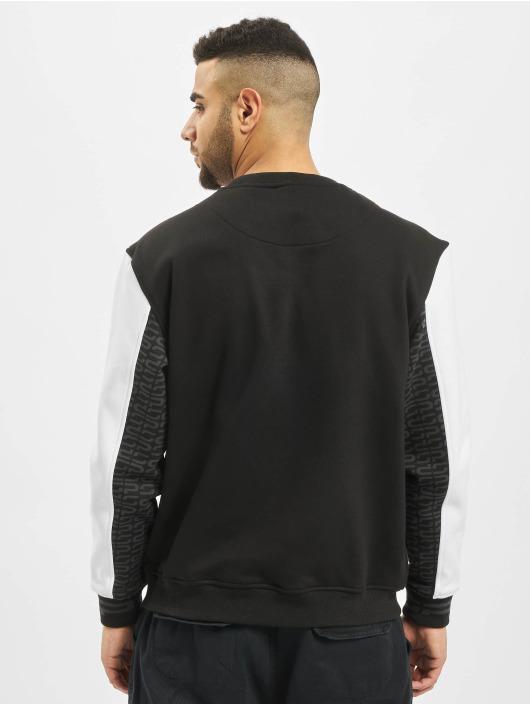 Southpole Sweat & Pull Color Block noir