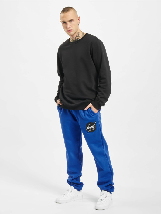 Southpole Sweat Pant Nasa Insignia Logo blue