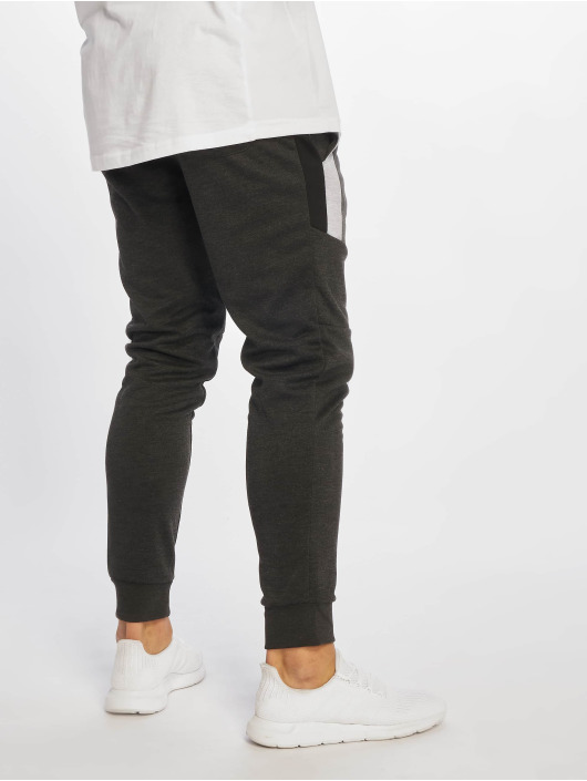 Southpole Sweat Pant Color Block Tech Fleece grey