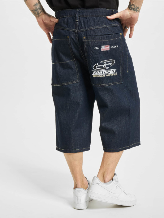 Southpole Szorty Denim Shorts indygo