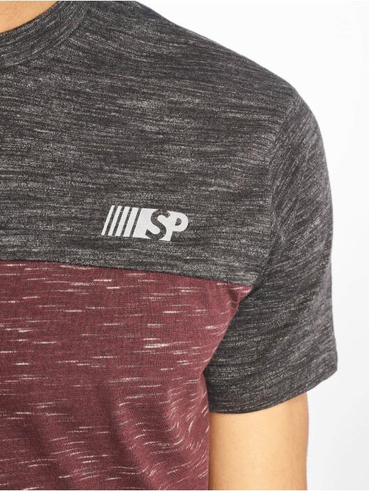 Southpole T-paidat Color Block Tech punainen
