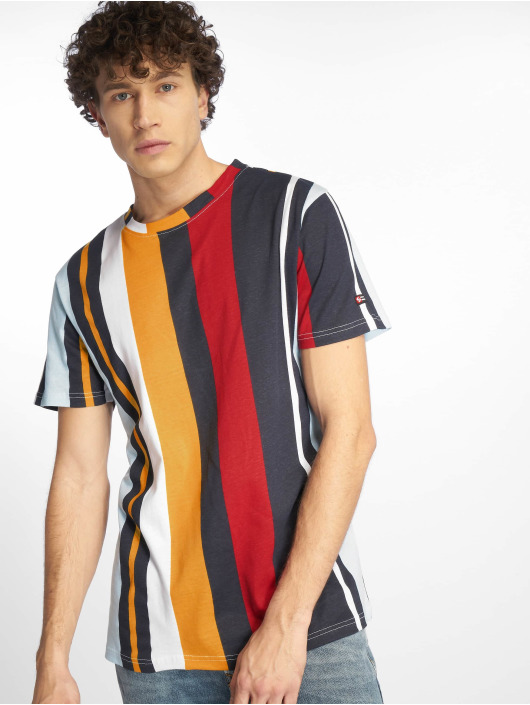 Southpole T-shirt Vertical Stripe Print blå