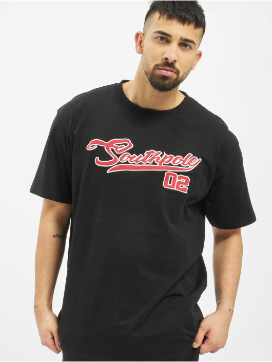 Southpole T-Shirt Written black