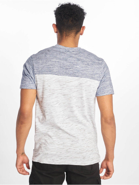 Southpole t-shirt Color Block Tech blauw