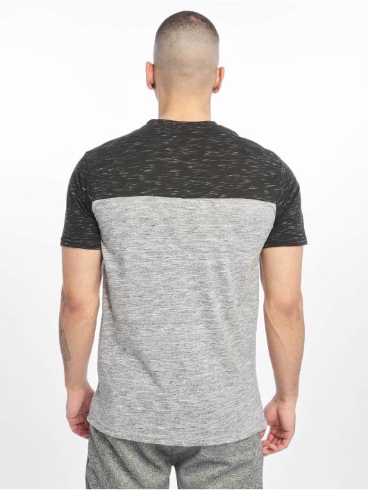 Southpole T-shirt Color Block Tech grigio