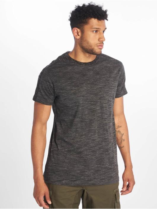 Southpole T-Shirt Shoulder Panel Tech gris