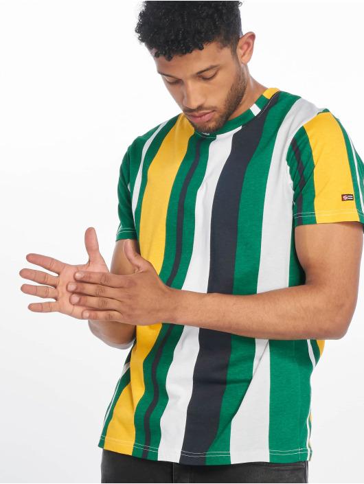 Southpole t-shirt Vertical Block groen