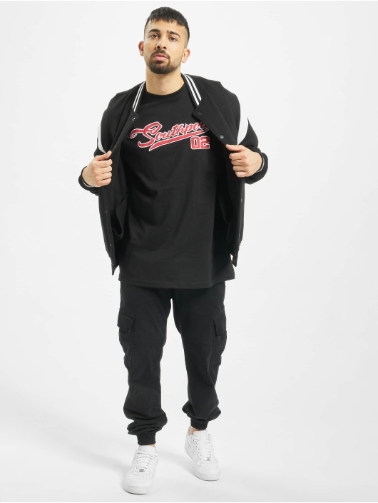 Southpole T-shirt Written nero