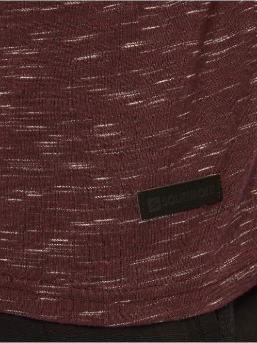 Southpole T-Shirt Color Block Tech rot