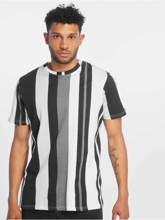 Southpole T-Shirt Vertical Block schwarz