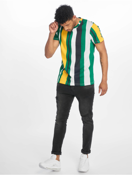 Southpole T-shirt Vertical Block verde
