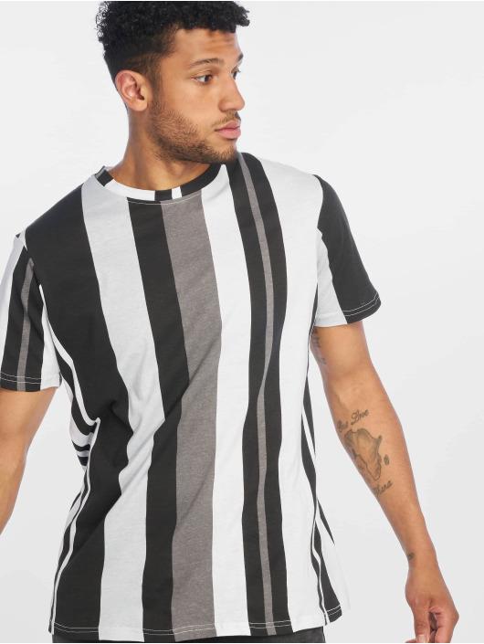 Southpole t-shirt Vertical Block zwart