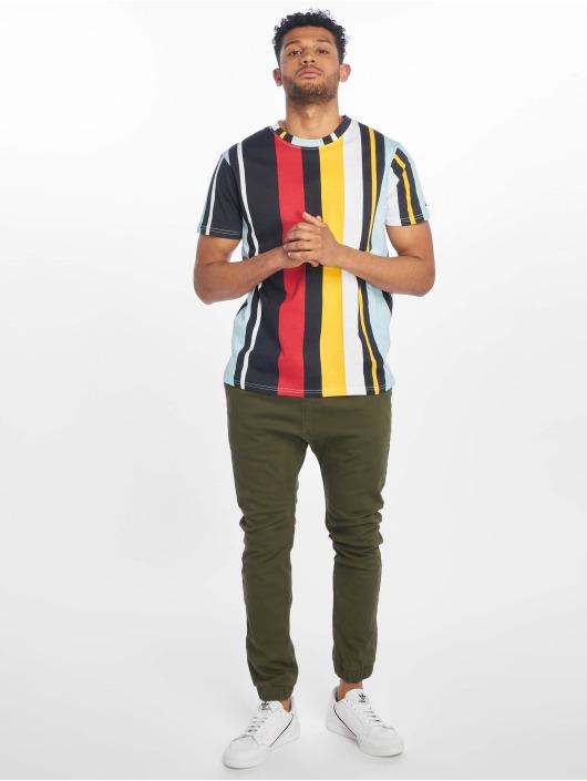 Southpole T-shirts Vertical Block blå