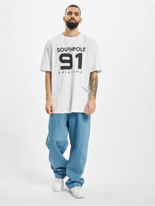 Southpole T-Shirty 91 bialy