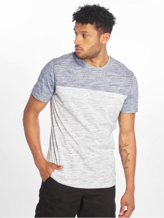 Southpole T-Shirty Color Block Tech niebieski