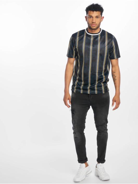 Southpole T-skjorter Thin Vertical Stripes blå