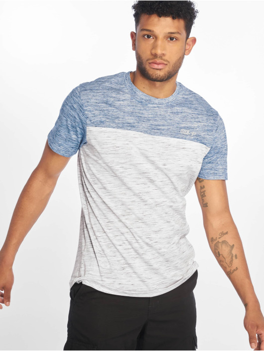 Southpole T-skjorter Color Block Tech blå