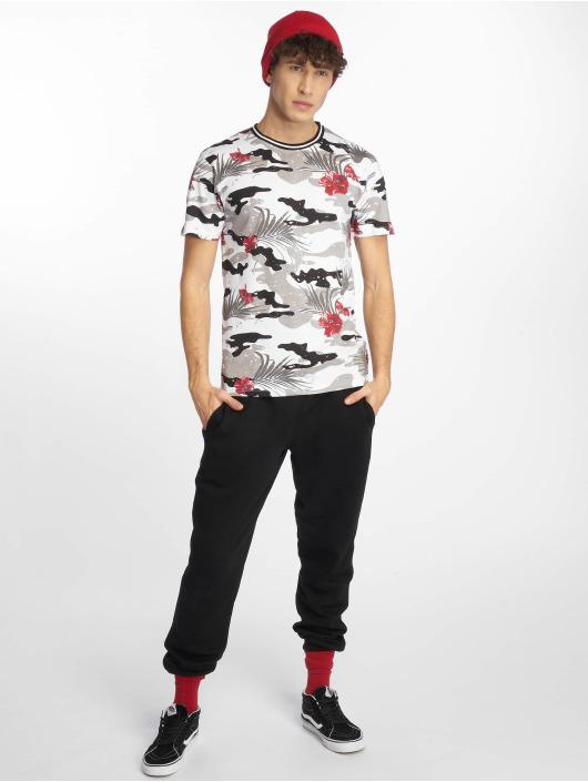 Southpole T-skjorter Tropical Camo Print svart