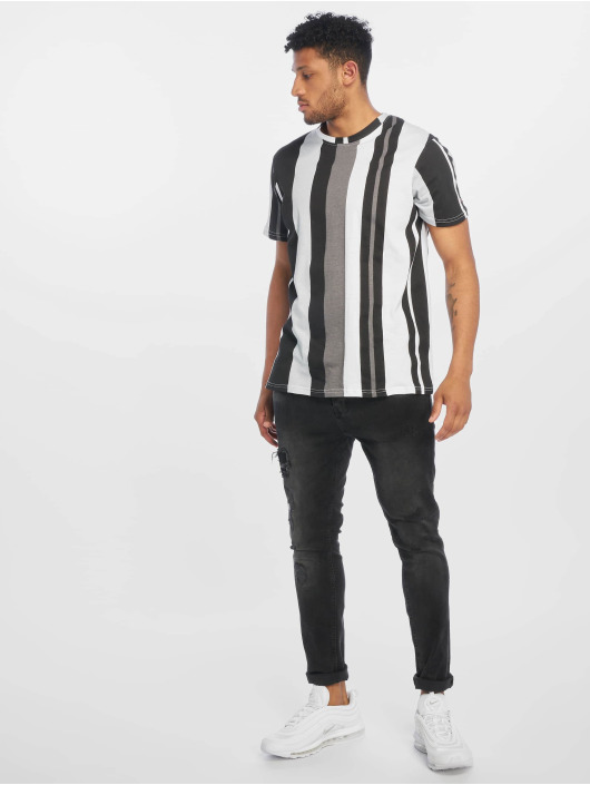 Southpole T-skjorter Vertical Block svart