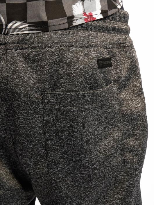 Southpole tepláky Marled Tech Fleece èierna
