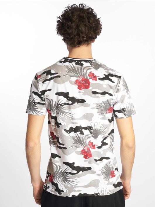 Southpole Tričká Tropical Camo Print èierna