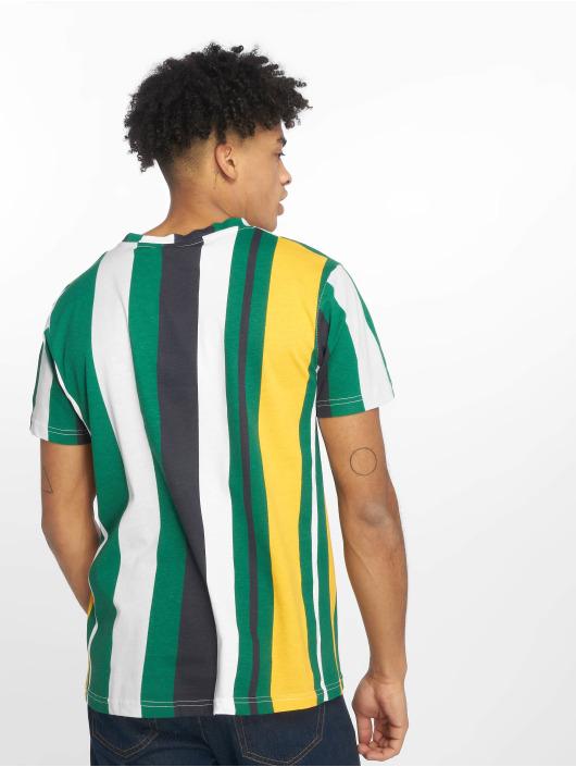 Southpole Tričká Vertical Stripe Print zelená