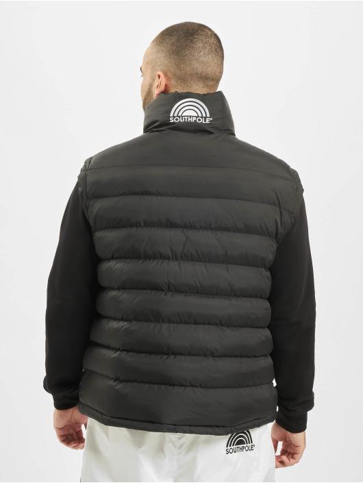 Southpole Veste sans manche Big Logo noir
