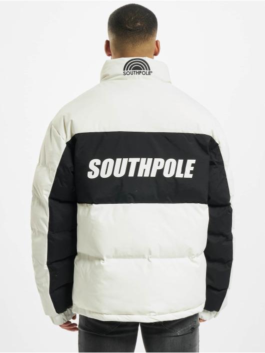 Southpole Winterjacke Sp weiß