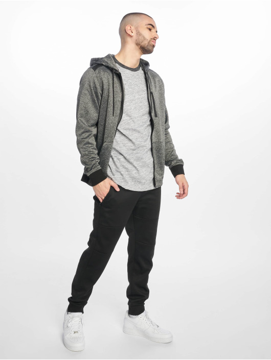 Southpole Zip Hoodie Tech Fleece черный