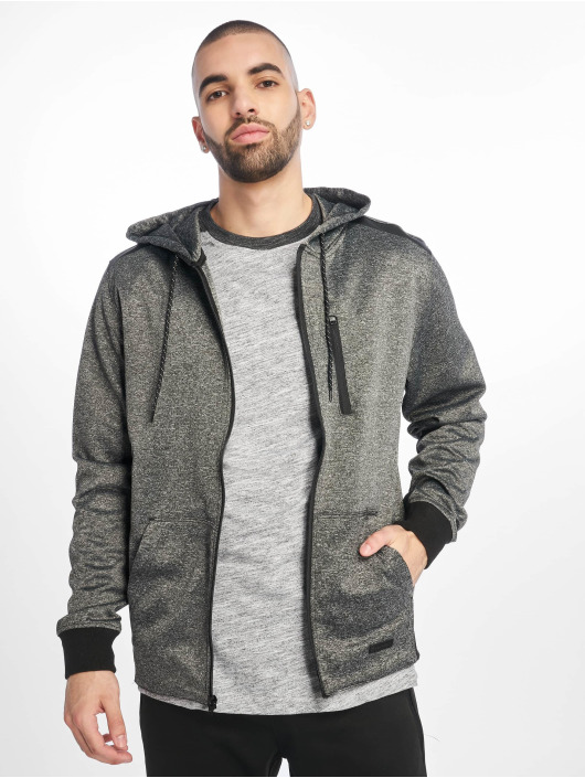 Southpole Zip Hoodie Tech Fleece czarny